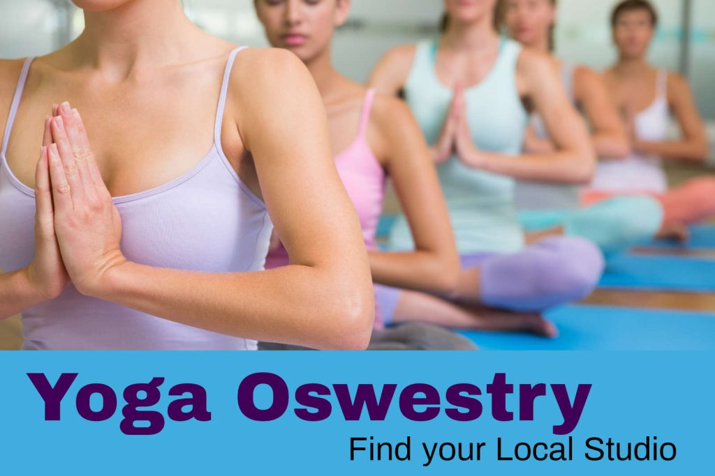 Find yoga in oswestry
